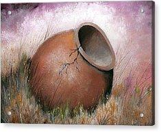 Temecula Pottery Original Acrylic Print
