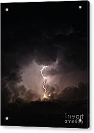 Tempest Acrylic Print by Billie-Jo Miller
