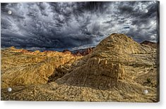 Tempest Acrylic Print by Stephen Campbell