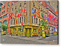 Temple Bar Acrylic Print