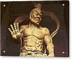 Acrylic Print featuring the photograph Temple Guardian 2 by Tim Ernst