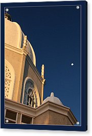 Temple Is Listeneng Acrylic Print by Alexey Dubrovin