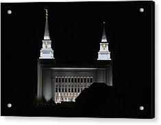 Temple Acrylic Print