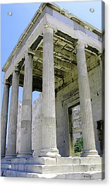 Temple Of Athena Entrance Acrylic Print