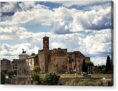 Temple Of Venus And Roma Acrylic Print