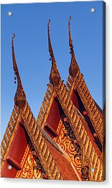 Temple Roof Acrylic Print by Thomas  von Aesch