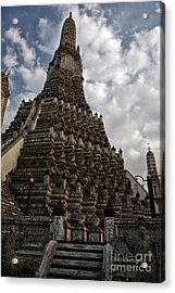 Temple Tower Acrylic Print by Thanh Tran