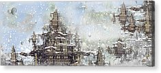 Temples Of The North Acrylic Print by Phil Sadler