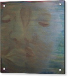 Tender Kiss Acrylic Print by Susan Saver