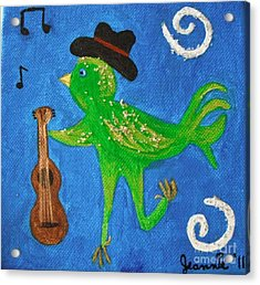 Tennessee Birdwalk Acrylic Print by Jeannie Atwater Jordan Allen