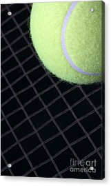 Tennis Anyone Acrylic Print by John Van Decker