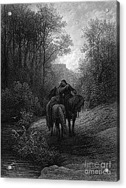 Tennyson: Guinevere Acrylic Print by Granger