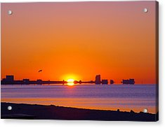 Acrylic Print featuring the photograph Tequila Sunrise by Brian Wright