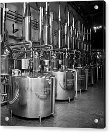 Acrylic Print featuring the photograph Tequilera S.s. Distillation Tanks by Lynn Palmer