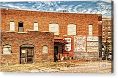 Acrylic Print featuring the photograph Terminal Drug Store by Jim Moore