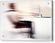 Terminal Speed Acrylic Print