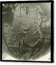 Terra Australis! #hipstamatic Acrylic Print