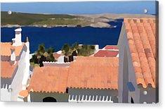 Terracotta Roof Views Acrylic Print