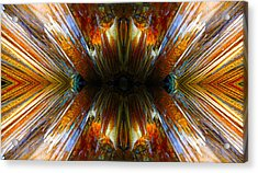 Acrylic Print featuring the photograph Terrestrial Rays by Sandro Rossi