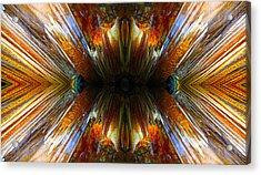 Terrestrial Rays Acrylic Print