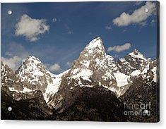 Acrylic Print featuring the photograph Teton Tips by Living Color Photography Lorraine Lynch
