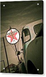 Texaco Acrylic Print by Merrick Imagery
