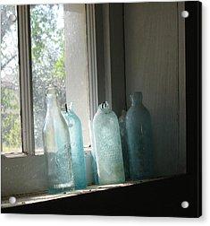 Texas Bottles Acrylic Print