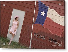 Acrylic Print featuring the photograph Texas Pride by Sherry Davis