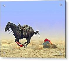 Texas Tumble Acrylic Print