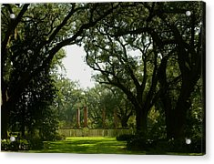 Tezcuco Plantation Grounds Acrylic Print by Helen Haw