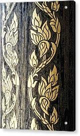 Thailand Pattern  Acrylic Print by Panupong Roopyai
