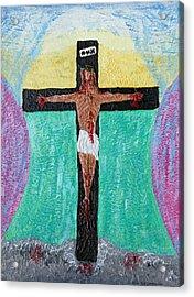 Thank God For Good Friday Nineteen Ninety Nine Acrylic Print by Carl Deaville