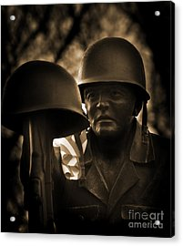 Acrylic Print featuring the photograph Thank You by Brian Duram