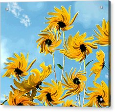 Acrylic Print featuring the photograph Thank You Vincent by Deborah Smith