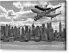 Thanks For The Show Acrylic Print by Susan Candelario