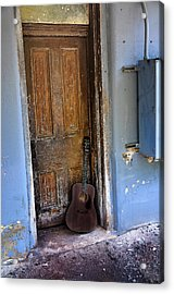 That Old Guitar Acrylic Print by Bill Cannon