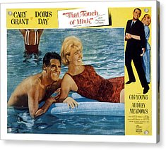 That Touch Of Mink, Cary Grant, Doris Acrylic Print by Everett