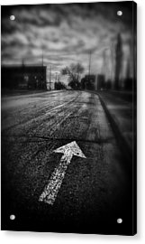 That Way  Acrylic Print by Russell Styles