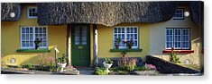 Thatched Cottage, Adare, Co Limerick Acrylic Print by The Irish Image Collection