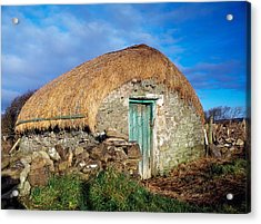 Thatched Shed, St Johns Point, Co Acrylic Print by The Irish Image Collection