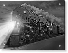 The 1218 On The Move Acrylic Print by Mike McGlothlen