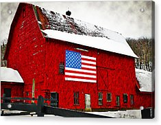 The American Dream Acrylic Print by Bill Cannon