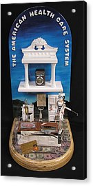 The American Healthcare System Acrylic Print by Bill Czappa