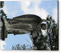 The Angel Acrylic Print by Andrea Drake