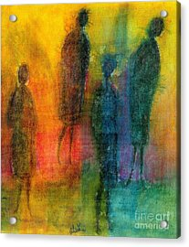 The Angels Among Us Acrylic Print by Angela L Walker