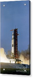 The Apollo 13 Space Vehicle Is Launched Acrylic Print