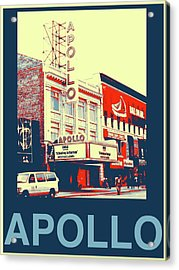 The Apollo Acrylic Print by Marvin Blatt