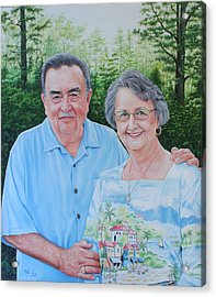 The Armstrongs Acrylic Print by Mike Ivey