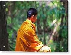 The Art Of Meditation Acrylic Print