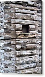 The Art Of Wood 3 Acrylic Print by Randall Weidner